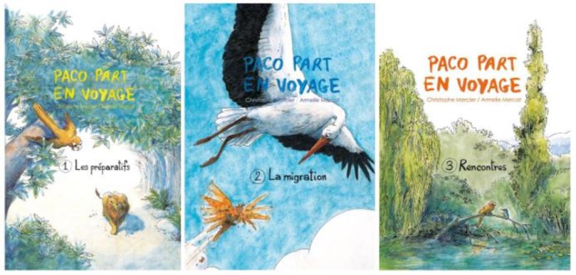 L A Librairie - Paco part en voyage (La Trilogie)
