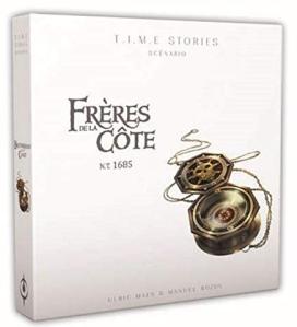 L A Librairie - Jeu - TIME Stories (Extension) Frères de la côte (fond blanc)