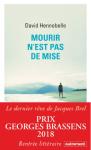 L A Librairie - Mourir n'est pas de mise de David Hennebelle - 2018