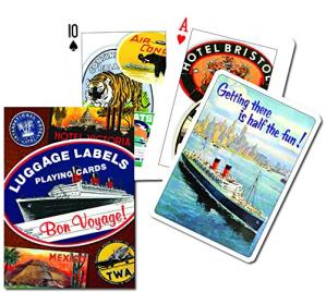 L A Librairie - Jeu - Jeu de cartes Etiquettes de bagages (contenu)