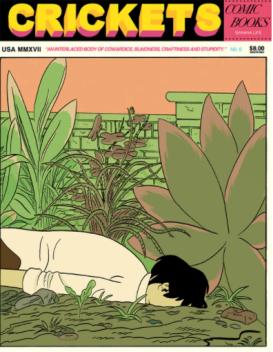 L A Librairie - Zine - Crikets 6 (Sammy Harkham) Couverture