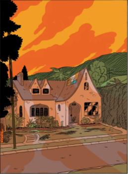 L A Librairie - Zine - Crikets 6 (Sammy Harkham) Illustration 1