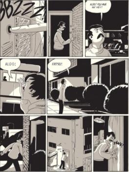 L A Librairie - Zine - Crikets 6 (Sammy Harkham) Illustration 2